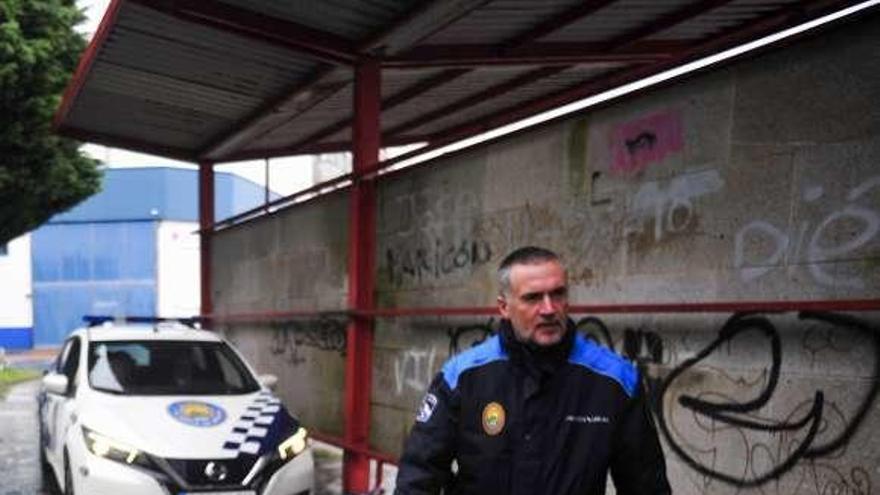 La Policía Local de Vilanova caza a Charlín mientras conducía sin puntos