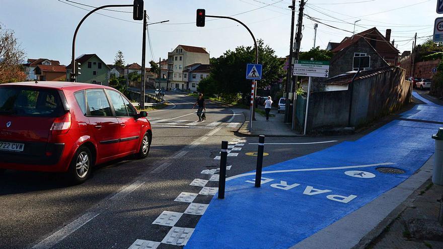 """El difícil encaje del """"camino azul"""" en la PO-551"""