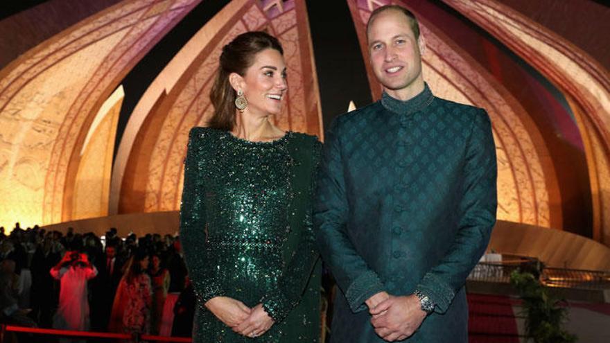 Kate Middleton y el príncipe William, al más puro estilo 'Las mil y una noches'
