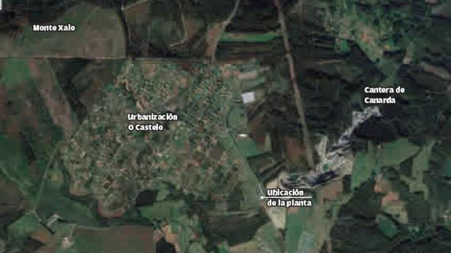 La Xunta autoriza ahora la planta de residuos de obra en Carral que rechazó en 2019
