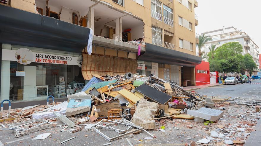 Prisión provisional para el autor de la explosión en un edificio de Torrevieja