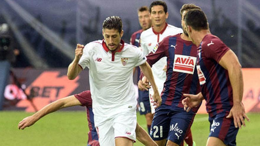 El Eibar rescata un punto contra el Sevilla
