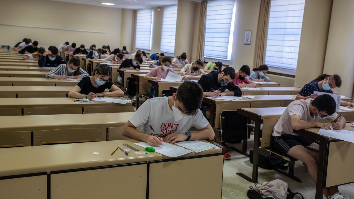 Exámenes de la EBAU en Zamora