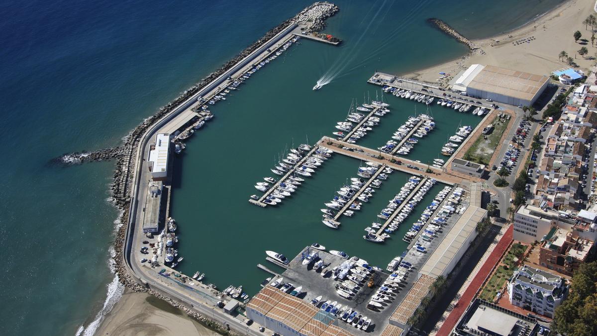 Vista del Puerto de Marbella.