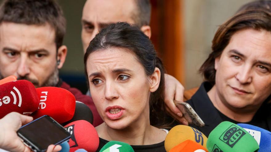 """Irene Montero: """"El movimiento del 8M responderá a HazteOír"""""""