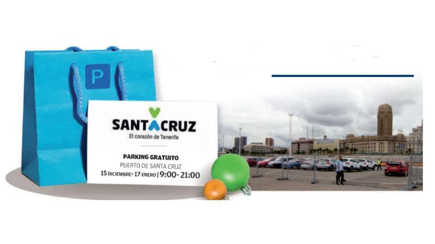 Santa Cruz recomienda la compra  en el comercio local y facilita un aparcamiento gratuito al aire libre