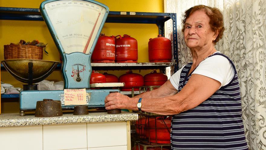 Fallece Paquita Lemes, centenaria vecina de El Risco