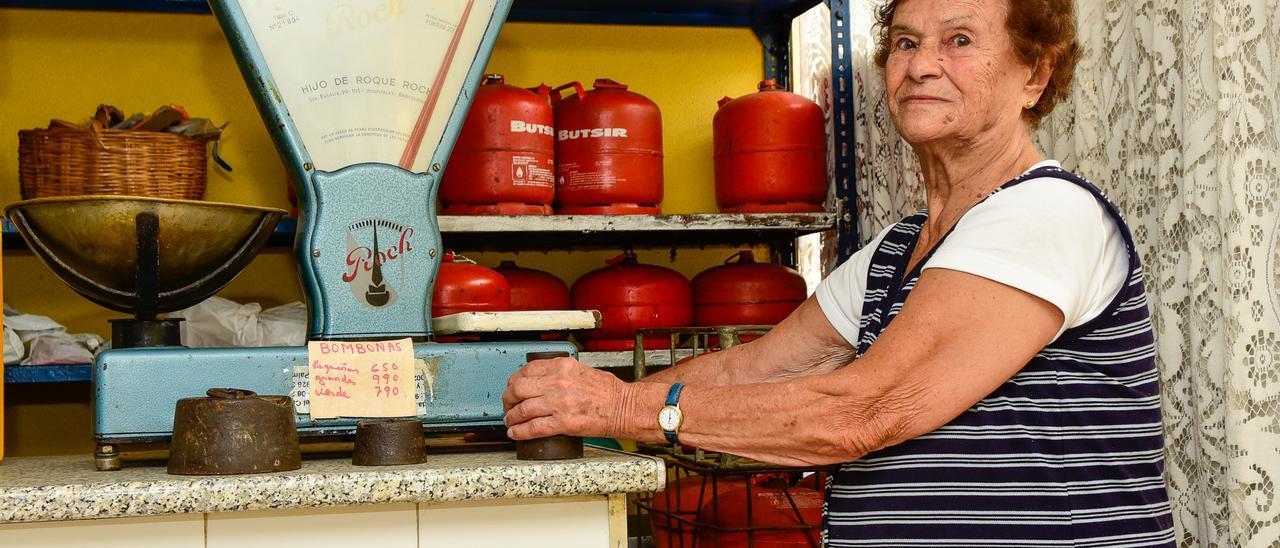 Fallece Paquita Lemes, histórica vecina de El Risco