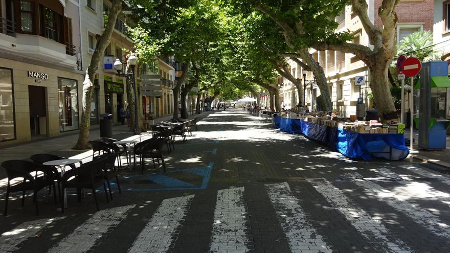 El Síndic confirma que cerrar a los coches Marqués de Campo de Dénia no vulnera derechos ni libertades