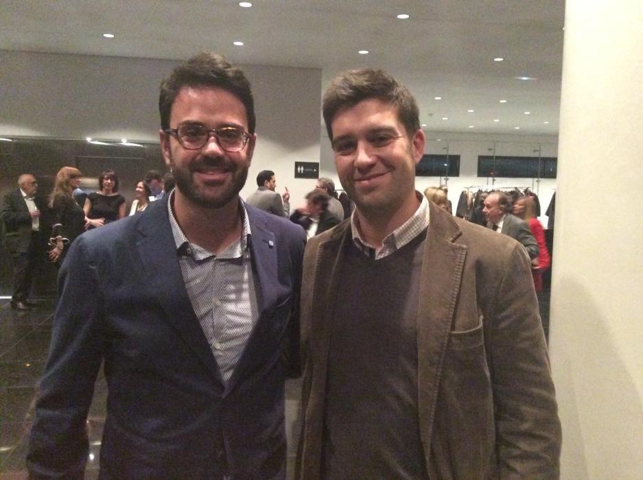 Adrián Santos y Gonzalo Espinosa de Ciudadanos
