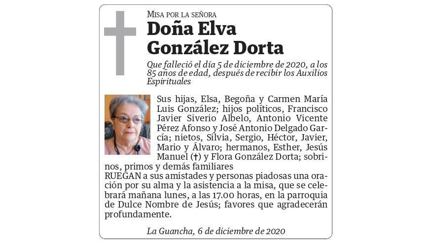 Elva González Dorta