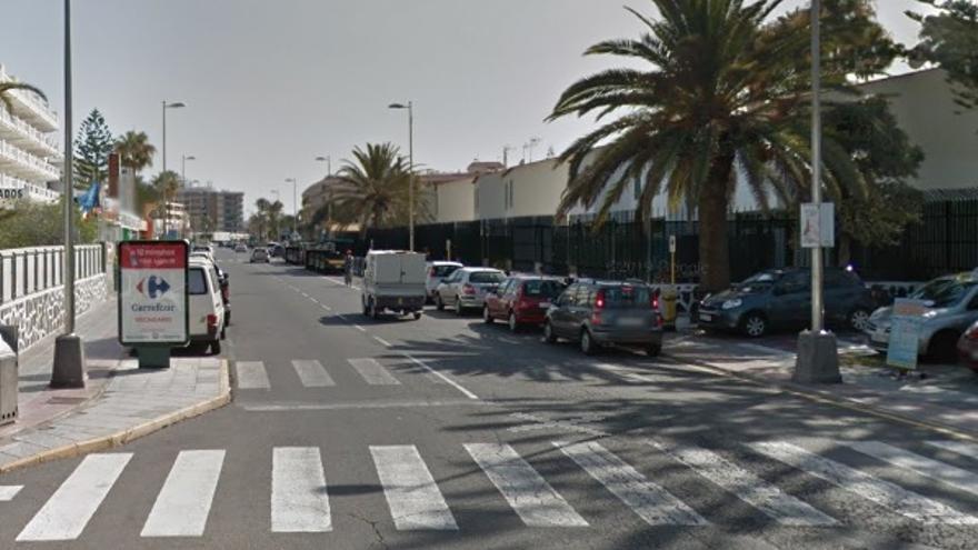 Finge el robo con violencia de su cartera y su teléfono móvil en Playa del Inglés