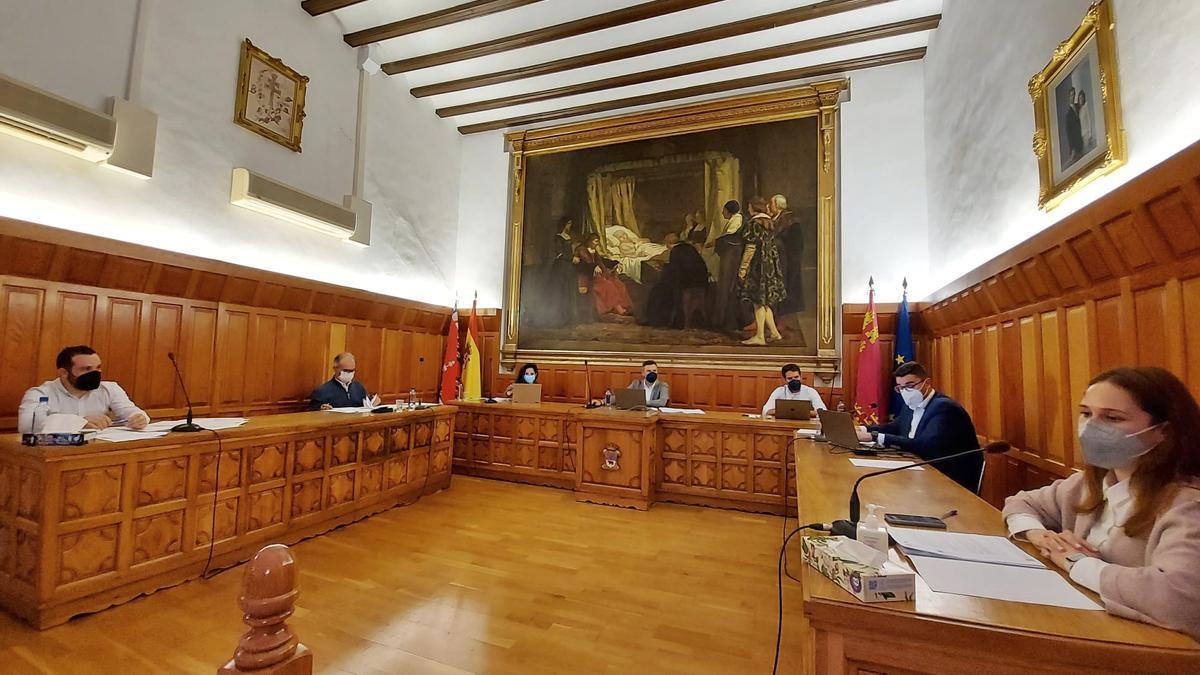 Celebración del Pleno en Caravaca