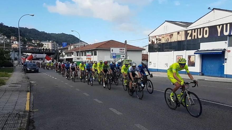 El Campeonato de Galicia pedalea en el área de Vigo