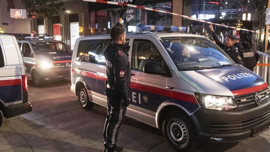 Dos detenidos en relación con el atentado de Viena