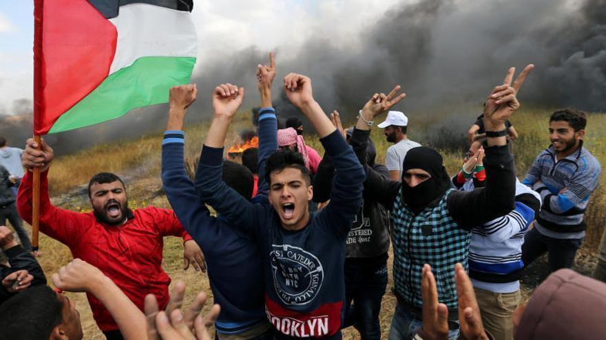 Un mínim de 12 palestins morts en xocs amb soldats israelians a Gaza