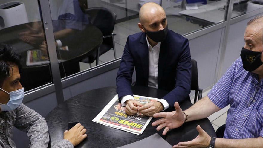 """""""Meriton ha tenido suerte de que la gente no haya podido entrar a Mestalla"""""""