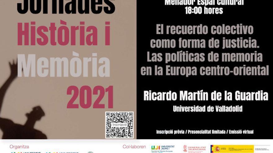 Ricardo Martín de la Guardia: El recuerdo colectivo como forma de justicia: Las políticas de memoria
