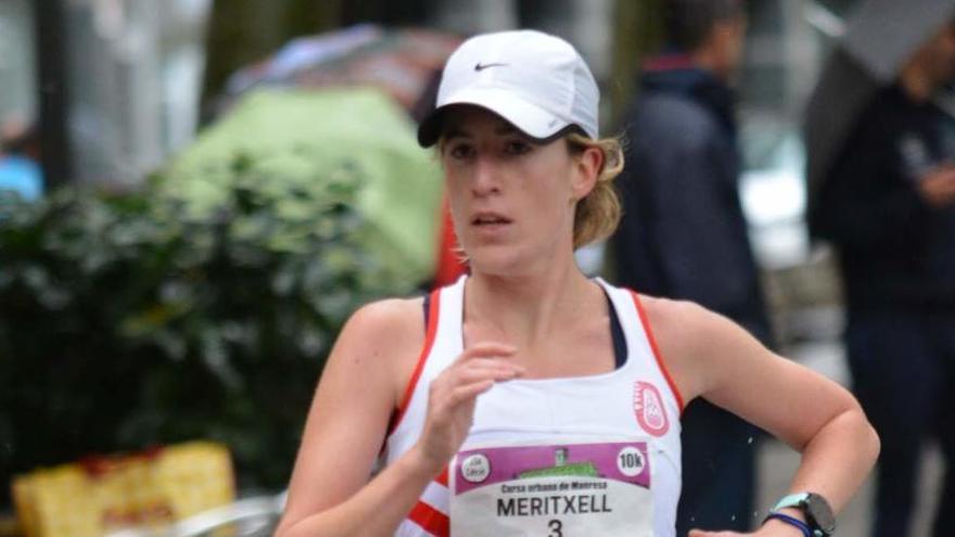 La santjoanenca Meritxell Soler bat el rècord del CAM de mitja marató