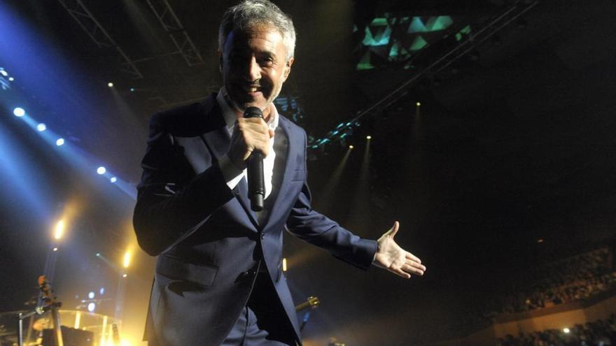 Sergio Dalma actuará el 5 de junio en el Palacio de la Ópera
