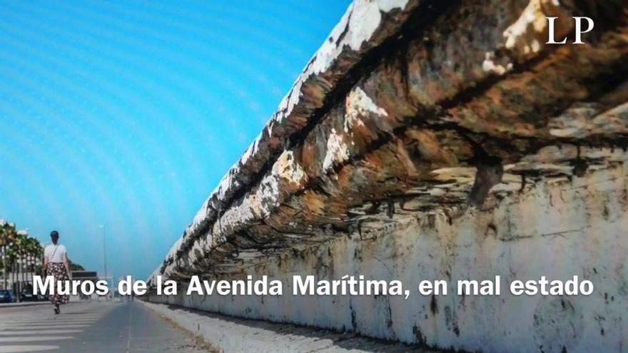 Las obras de mejora de la Avenida Marítima arrancan con una inversión de un millón de euros