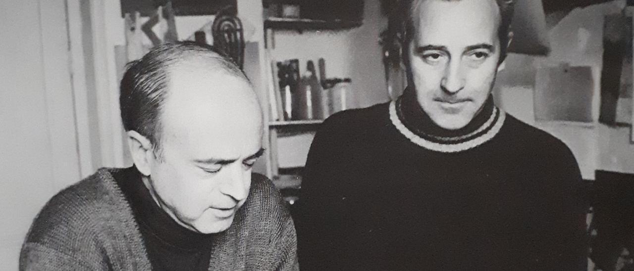 Eusebio Sempere y Abel Martín.