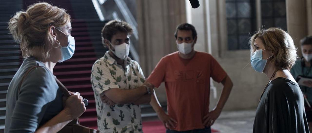 Carlos Cuevas ja roda la segona temporada de «Merlí: Sapere Aude»