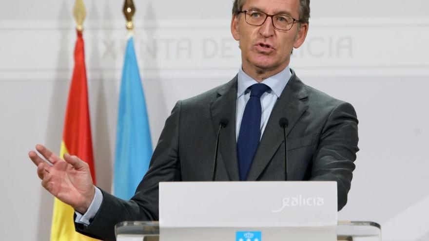 """Feijóo espera dar """"buenas noticias"""" a la hostelería gallega antes del puente"""