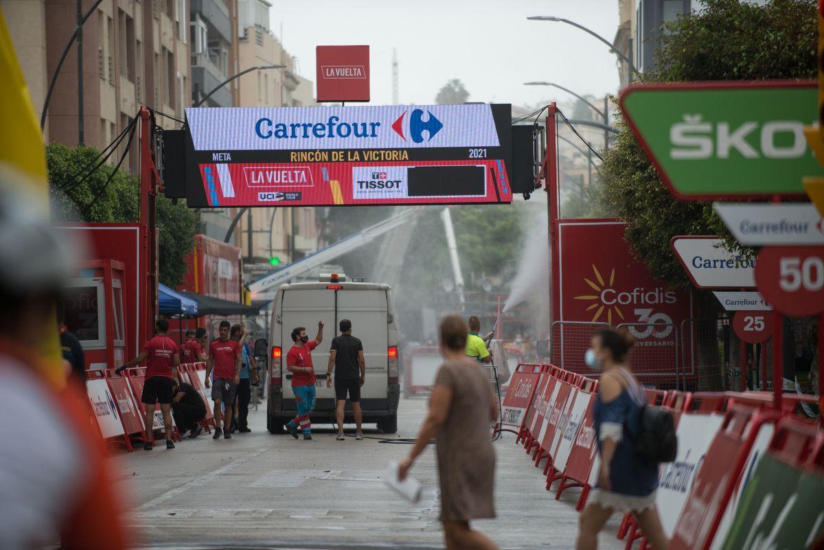 Rincón de la Victoria se prepara para recibir a La Vuelta