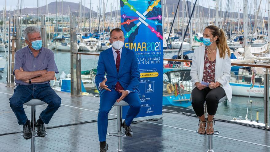 Fimar coloca a la ciudad en el mapa internacional de la economía azul y la navegación trasatlántica