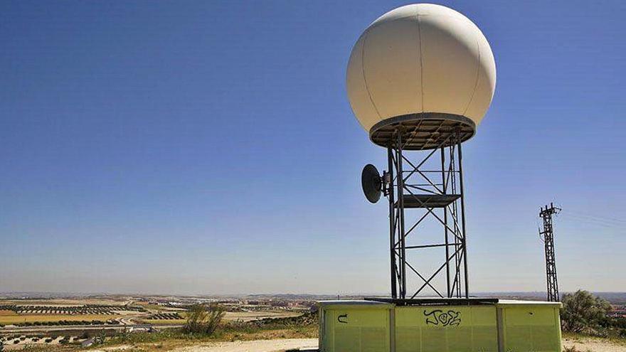La Aemet espera desbloquear este año la obra del radar meteorológico
