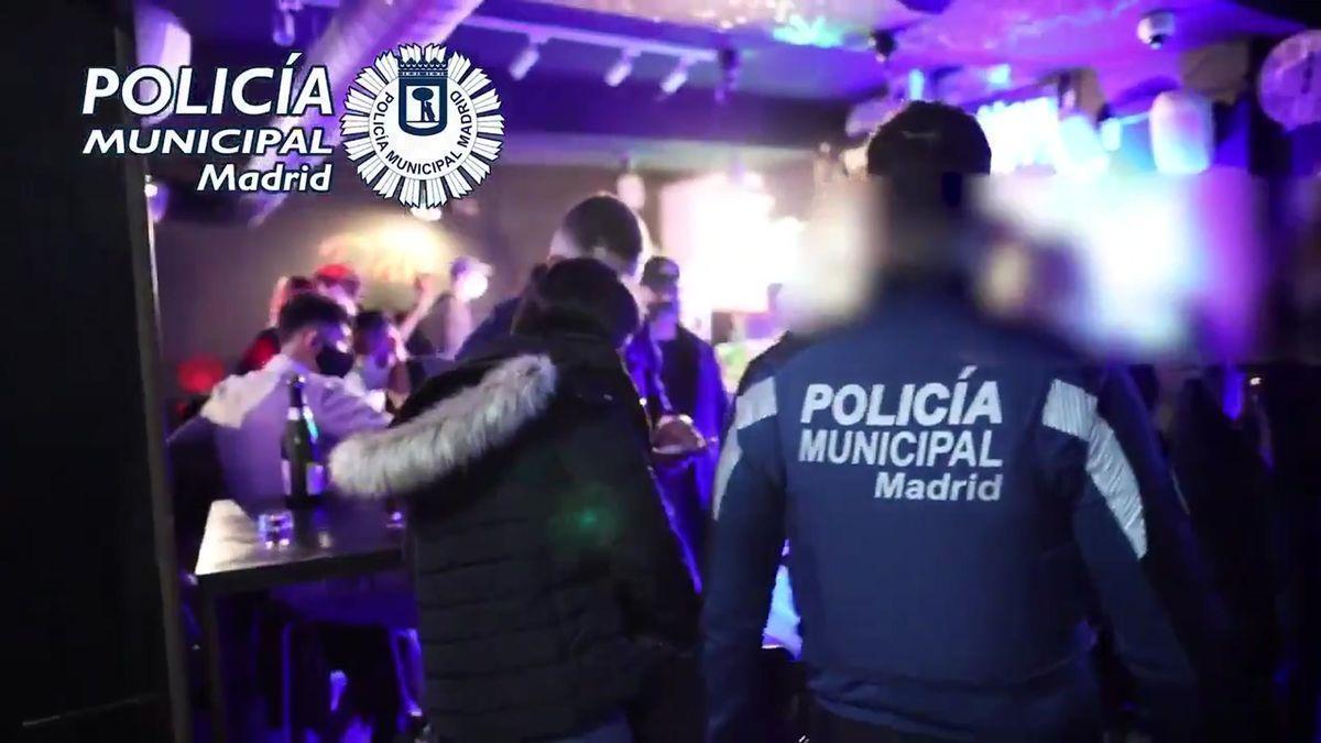Madrid interviene más de 200 fiestas ilegales solo este fin de semana