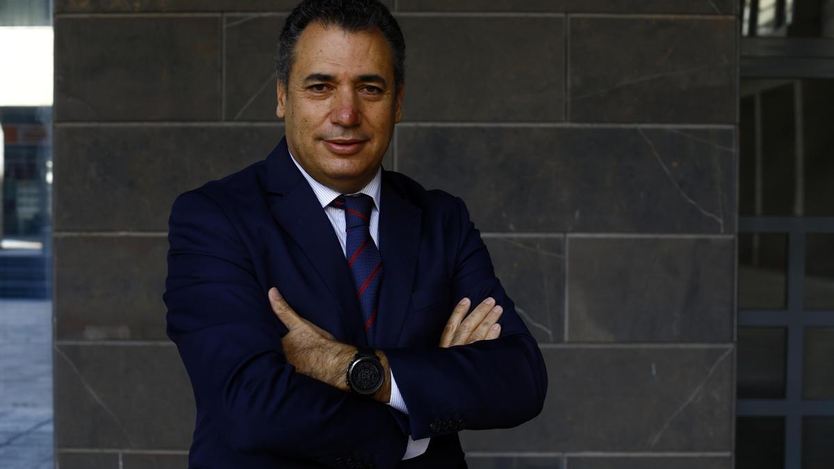 Benito Tesier, presidente del Clúster de Automoción de Aragón (Caar) y director general de Brembo.