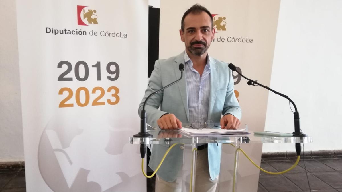 Félix Romero, viceportavoz del PP en la Diputación.