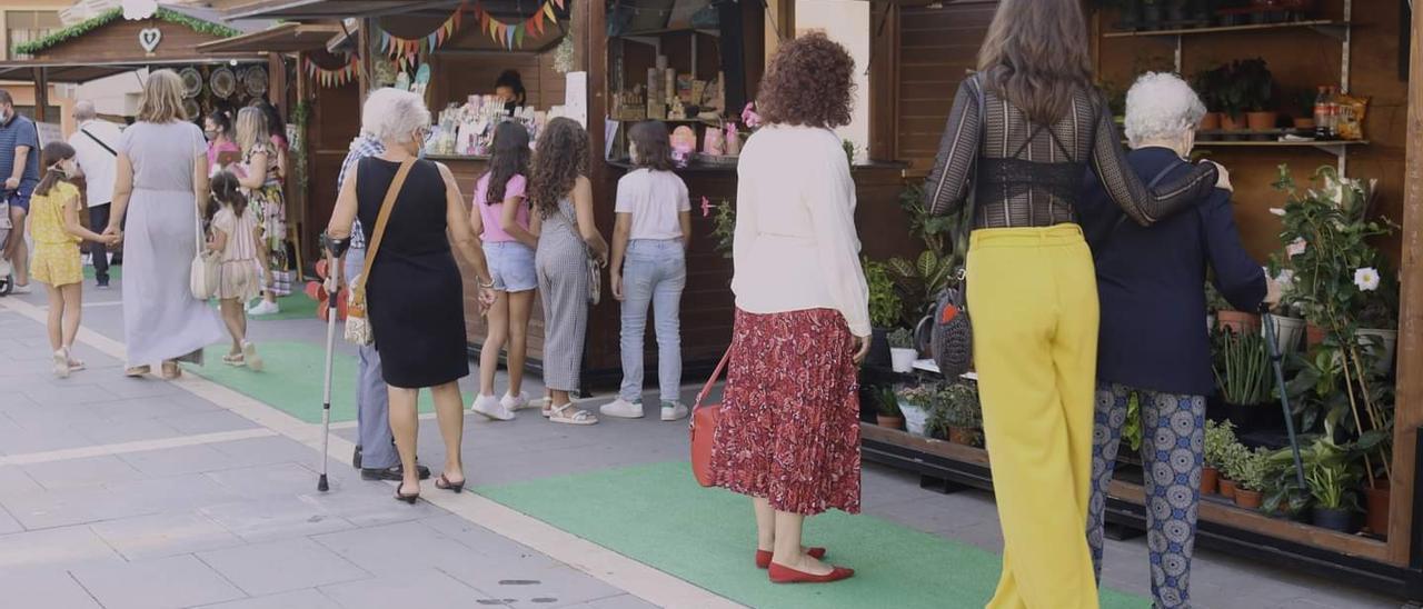 La tradicional fira se celebró durante el fin de semana con 27 casetas.