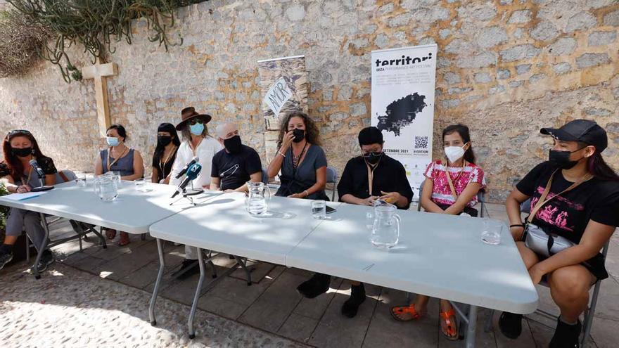 Artistas internacionales en el Festival Territori de Ibiza