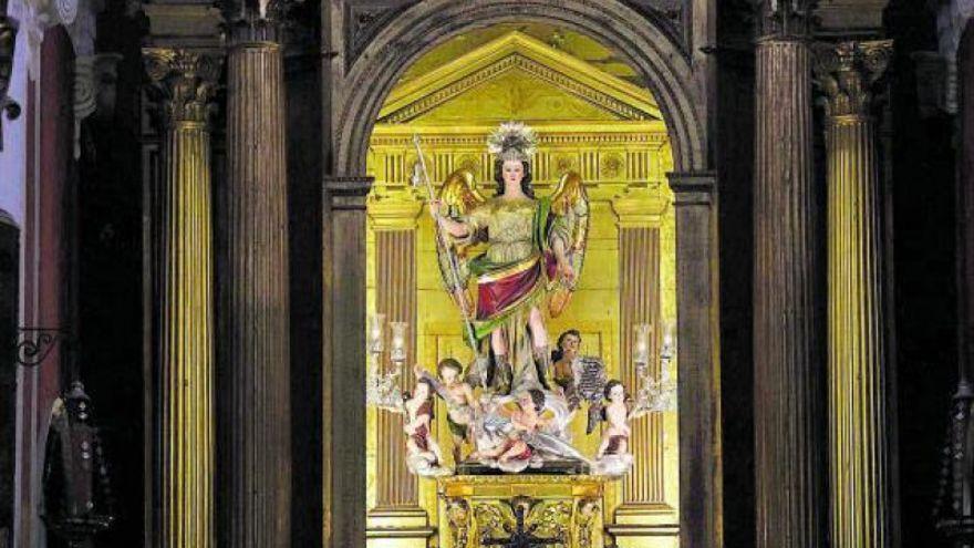 Celebración en el Juramento del Arcángel San Rafael Custodio