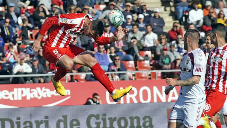 El Girona inicia aquest dilluns els entrenaments amb grups de deu futbolistes