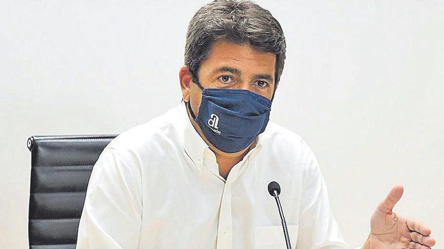 PSPV y Compromís se alían en un frente común para desgastar a Mazón con los fondos sin justificar