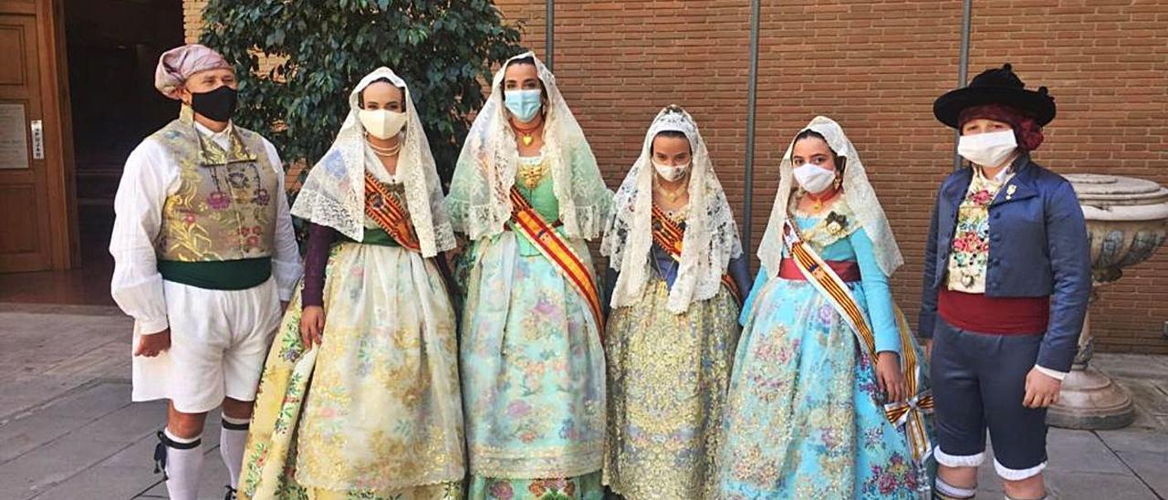 Torrent:   Comisiones falleras acudieron a la misa de San José Obrero | L.SENA