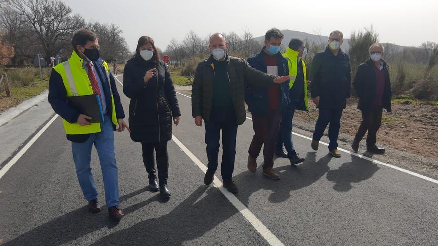Coso de Sanabria ya tiene nueva carretera