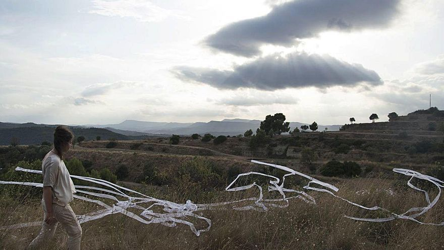 L'art efímer s'escampa pel parc del Secà de Manresa amb voluntat de perdurar