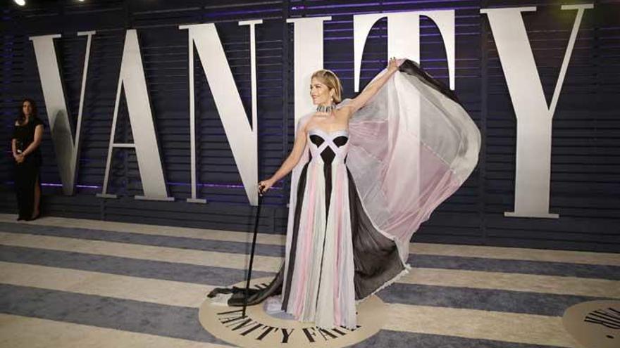 Selma Blair y su potente mensaje sobre la esclerosis múltiple en los Oscars 2019