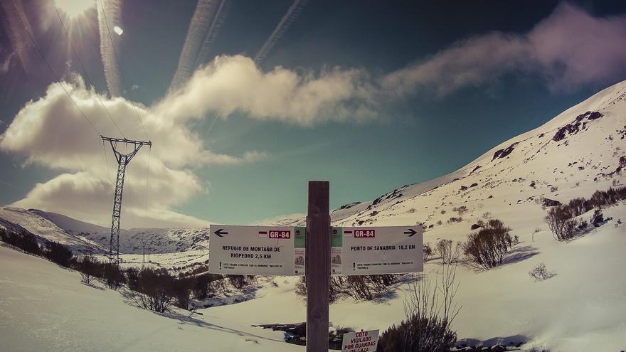 Rutas en Sanabria con raquetas de nieve