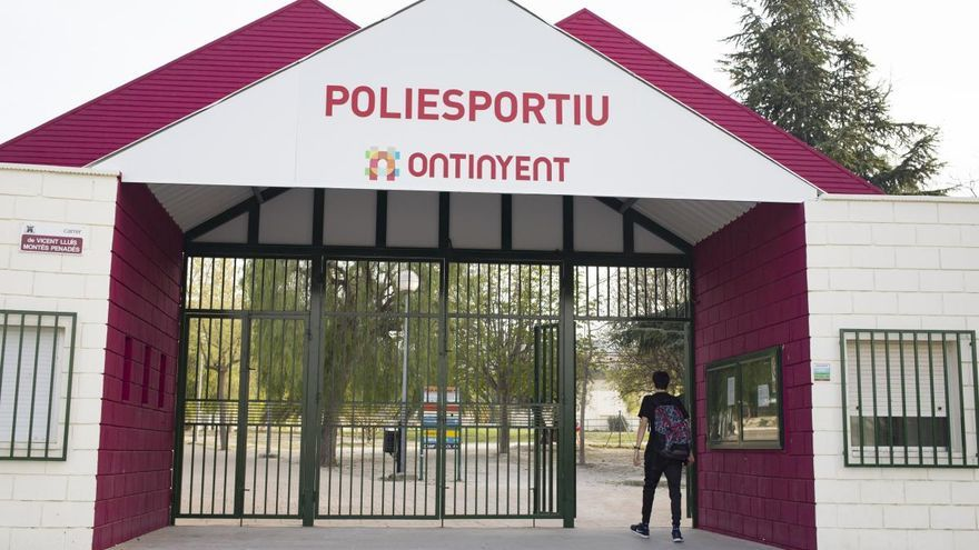 Ontinyent abrirá en la fase 2 el pabellón, el gimnasio y el trinquete del polideportivo municipal