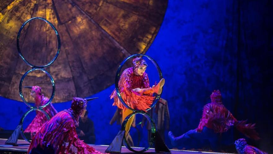 La travesía surrealista por México del Cirque du Soleil