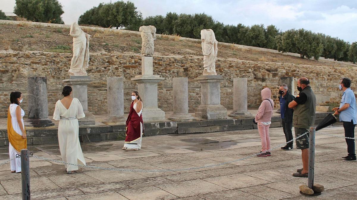 Una de las actividades culturales que se han celebrado en el foro de Torreparedones en los últimos meses