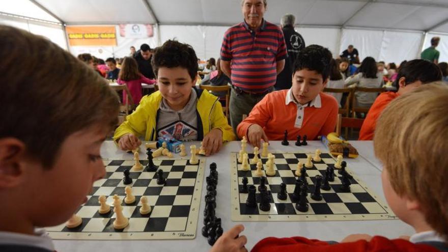 El ajedrez está de moda en la Boa Vila