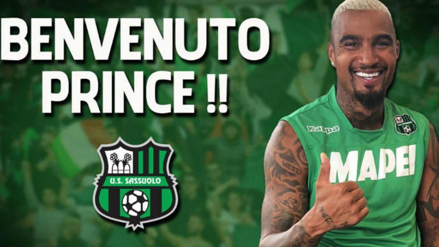 Prince Boateng ficha por el Sassuolo