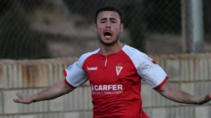 El canterano Silvente, novedad en la lista del Real Murcia